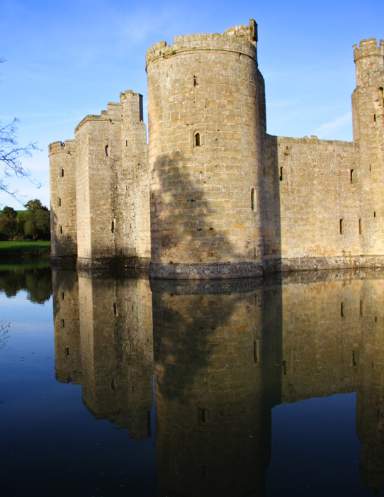 castle and moat large